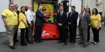 ShopRite Donates Forklift and Food