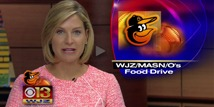 Orioles, MASN and WJZ Team Up With MFB for 30th Annual Food and Funds Drive