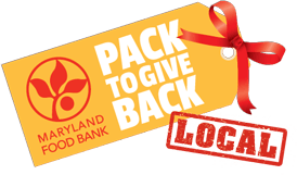 Pack To Give Back Local