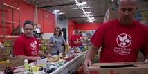 State Officials Help Kick Off Hunger Action Month