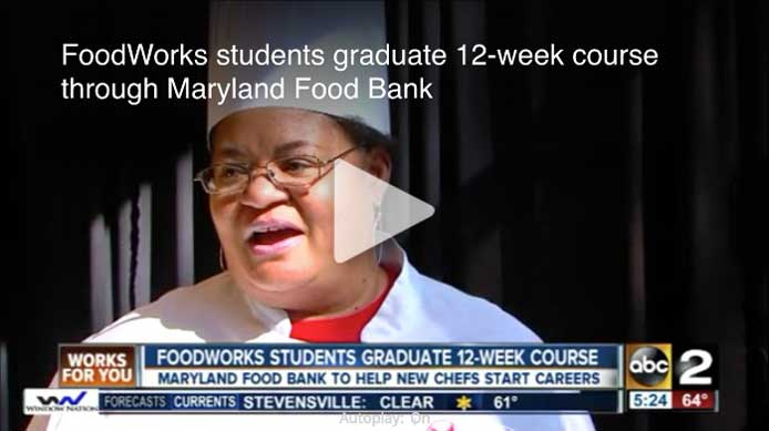 FoodWorks students graduate 12-week course