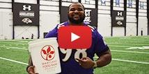 Brandon Williams of the Baltimore Ravens