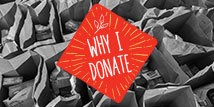 Why Donate? Mitzi Perdue