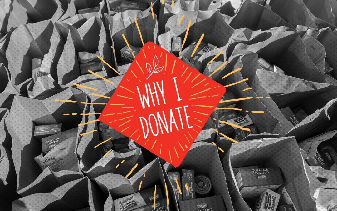Why Donate? Danny & Donna Schaub