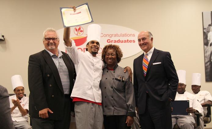 Damon FoodWorks graduate class 28