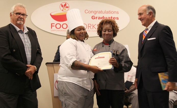 Deanna FoodWorks graduation