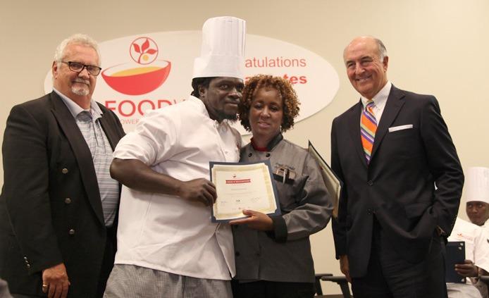 Michael FoodWorks graduate class 28