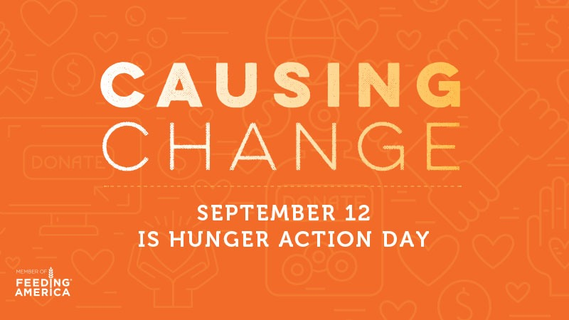 September 12 is Hunger Action Day