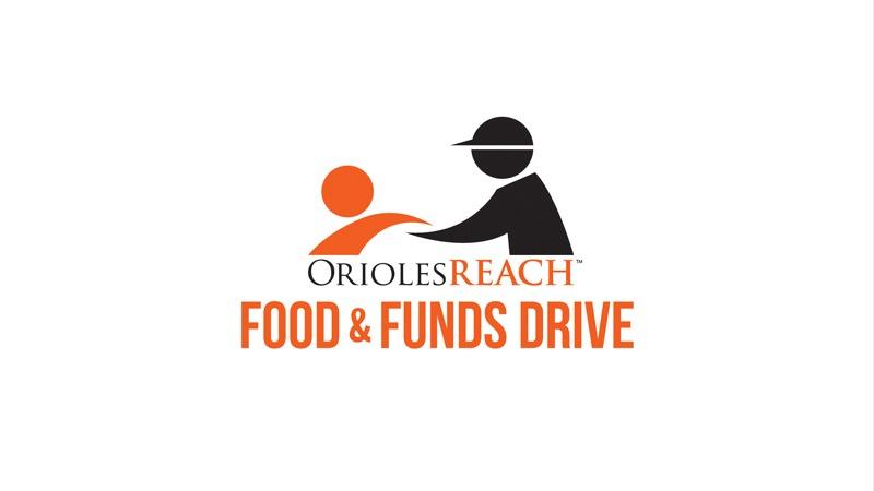 OriolesREACH food & funds drive