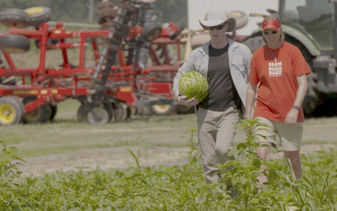Farm to Food Bank Program (VIDEO)