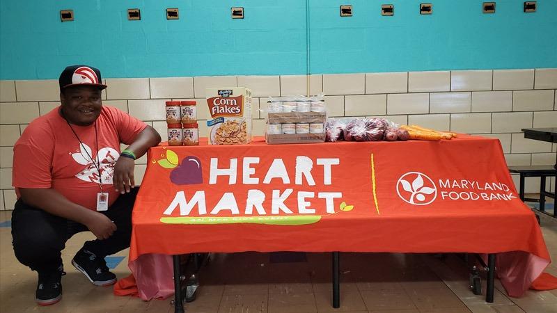 Deonta Sweets, HEART Market coordinator