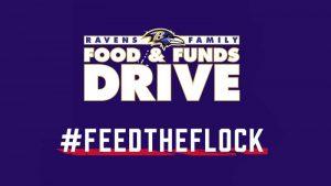 Baltimore Ravens Food & Funds Drive - feedtheflock