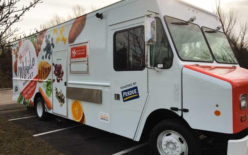 Maryland Food Bank Mobile Market