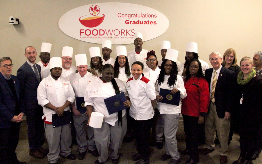 Well Done FoodWorks Class 34 Graduates!
