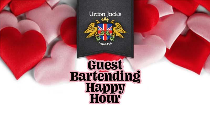 Union Jack's Annapolis guest bartending happy hour