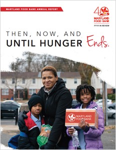 Maryland Food Bank annual report FY19