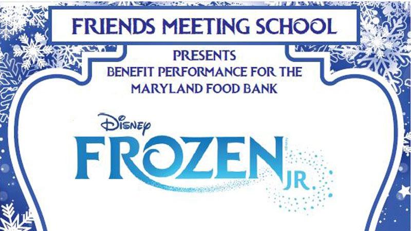 Frozen Jr. at Friends Meeting School