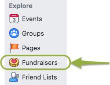 Facebook fundraisers link