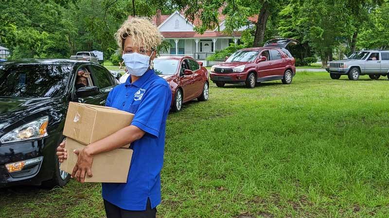 BUBs 2.0 car food distribution