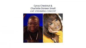 Cyrus Chestnut and Charlotte Doreen Small