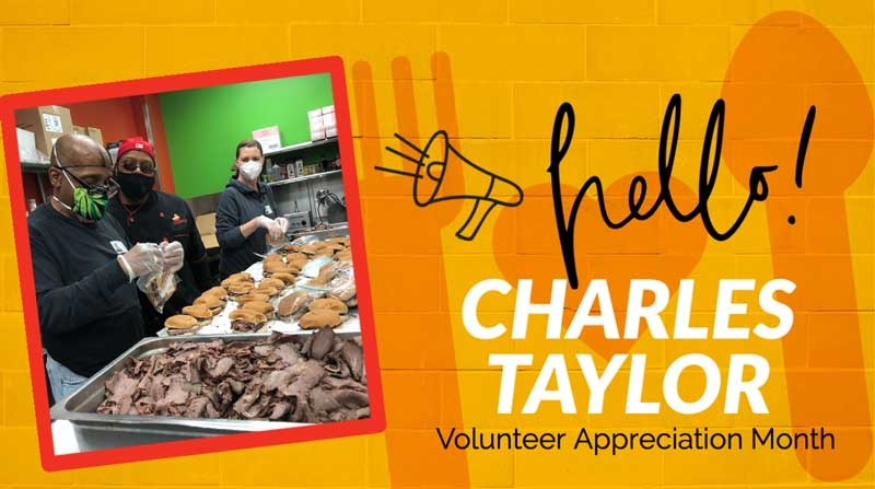 National Volunteer Month 2021 Charles Taylor