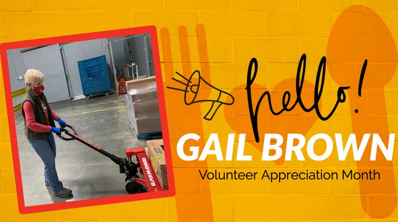 National Volunteer Month 2021 Gail Brown