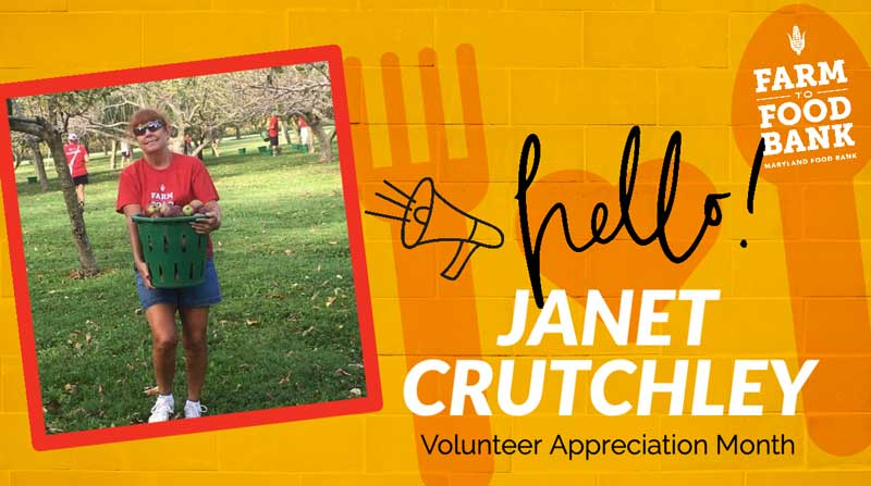 National Volunteer Month 2021 Janet Crutchley