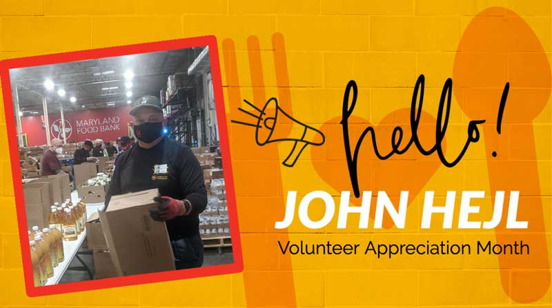 National Volunteer Month 2021 John Heil