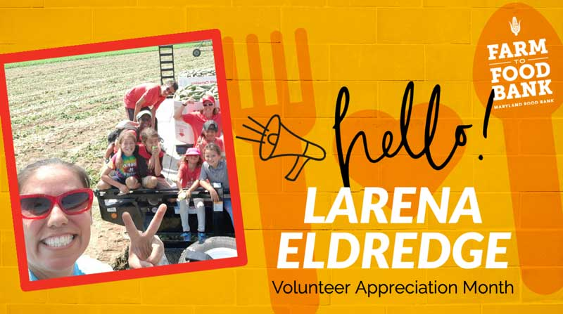 National Volunteer Month 2021 Larena Eldredge