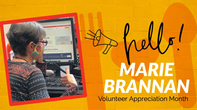 National Volunteer Month 2021 Marie Brannan