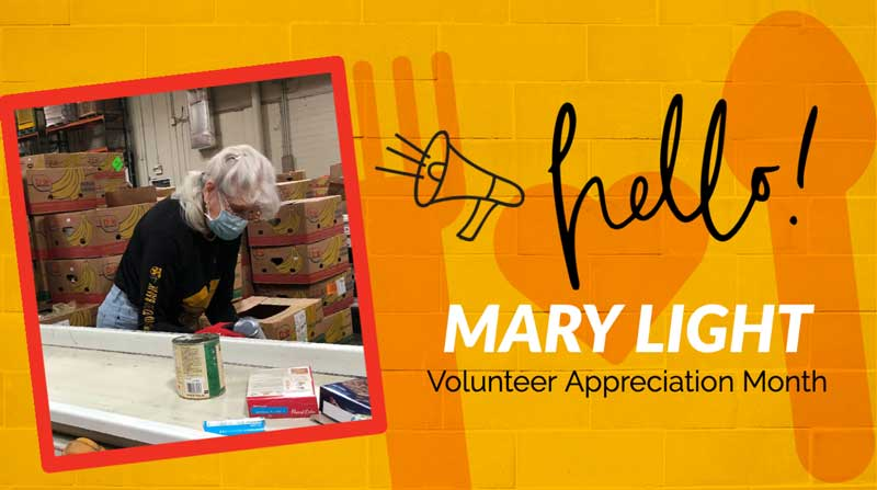 National Volunteer Month 2021 Mary Light