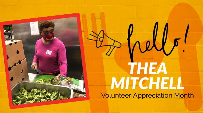 National Volunteer Month 2021 Thea Mitchell