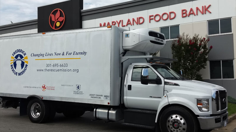 Fred Rescue Mission truck