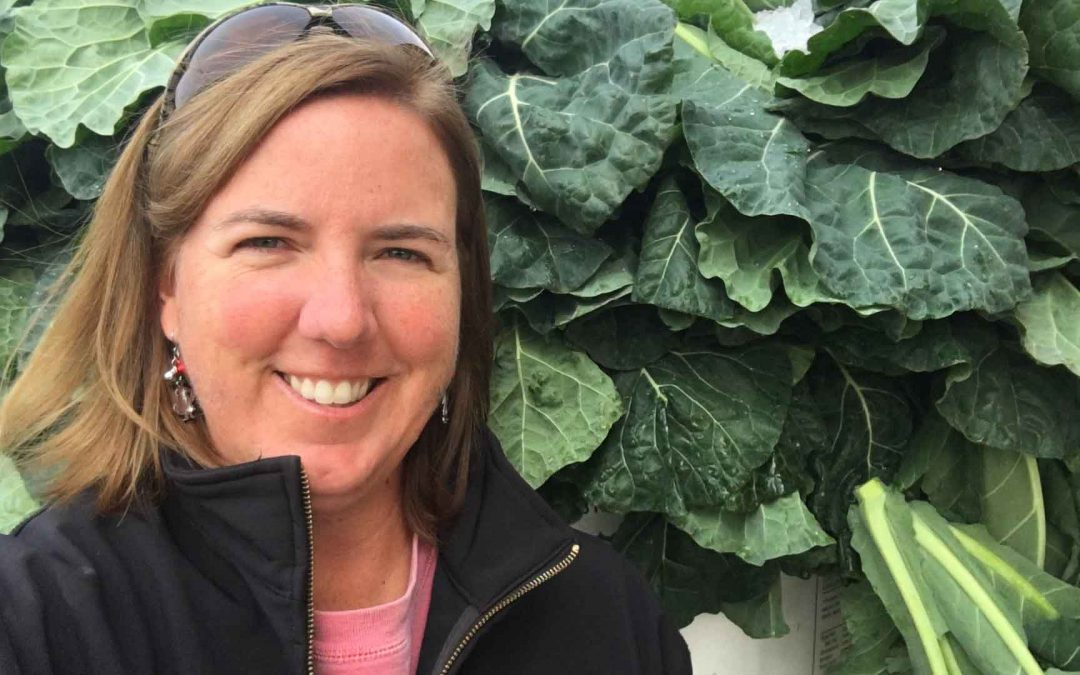 Our Farm to Food Bank Program's Superhero: Amy Cawley