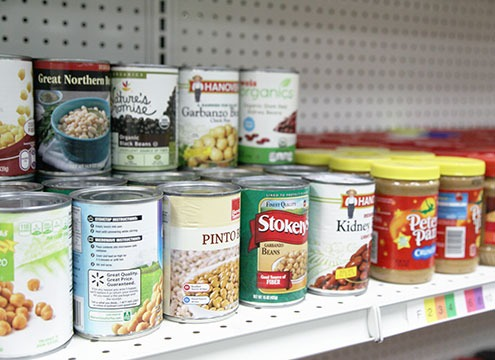 USDA federally sourced canned foods